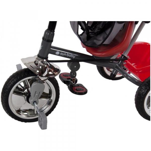 Tricicleta Super Trike - Sun Baby - Rosu 3