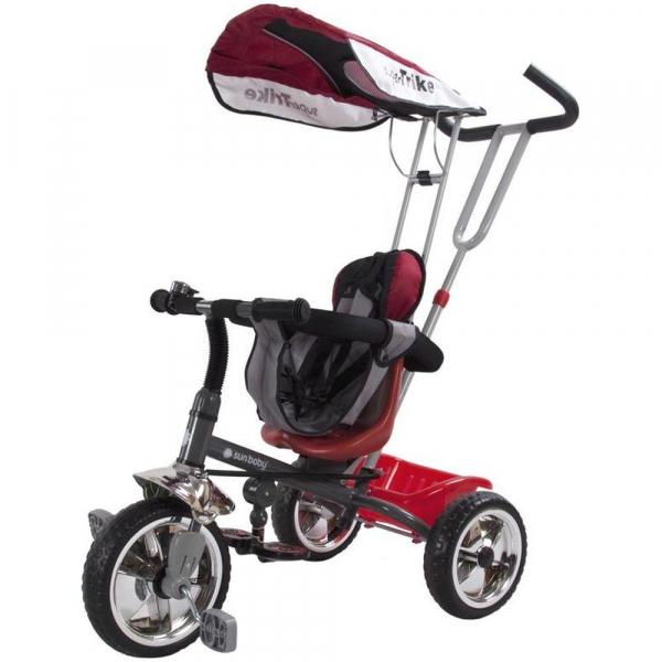 Tricicleta Super Trike - Sun Baby - Rosu 0