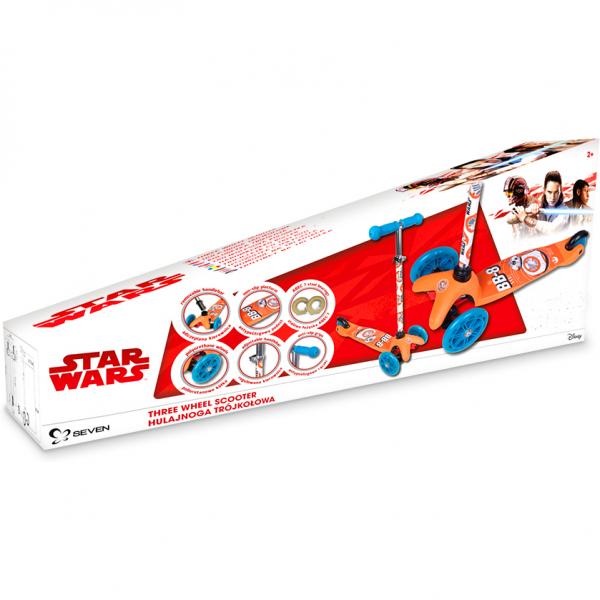 Trotineta cu 3 roti Star Wars BB8 Seven SV9919 4