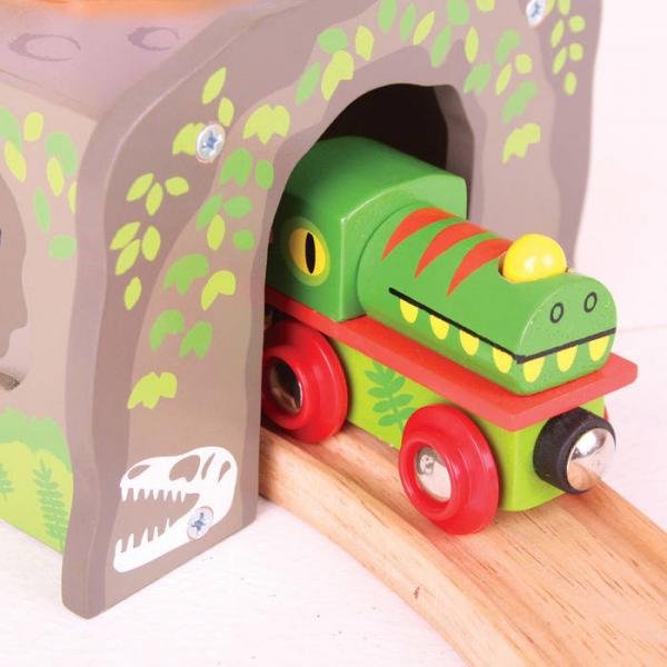 Tunel cu T-Rex 1