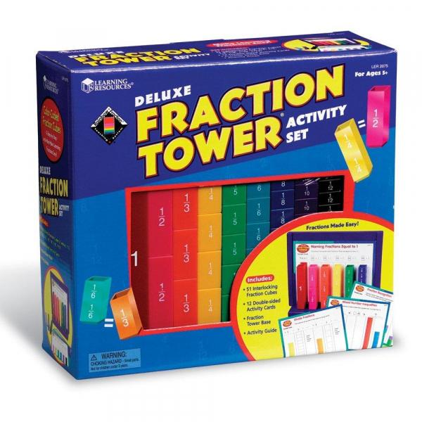 Turnul fractiilor - set activitati 2