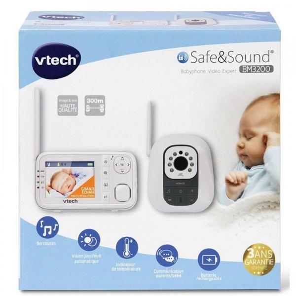 Videofon Digital de monitorizare bebelusi BM3200 - Vtech 5