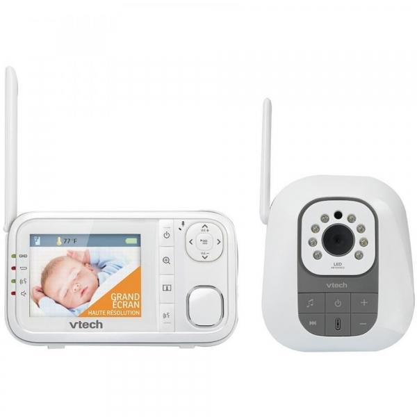 Videofon Digital de monitorizare bebelusi BM3200 - Vtech 0