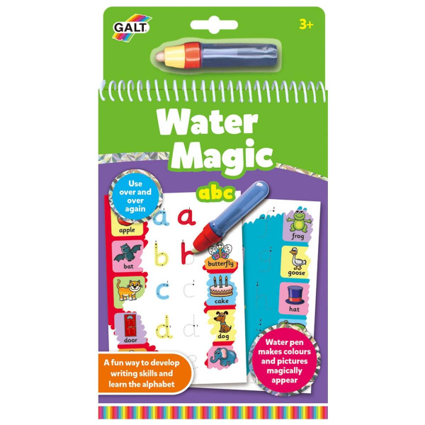 Water Magic: Carte de colorat ABC 2