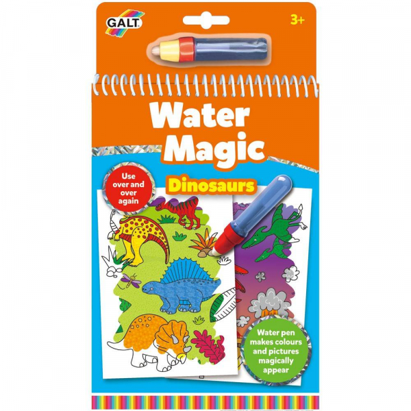 Water Magic: Carte de colorat Dinozauri 0