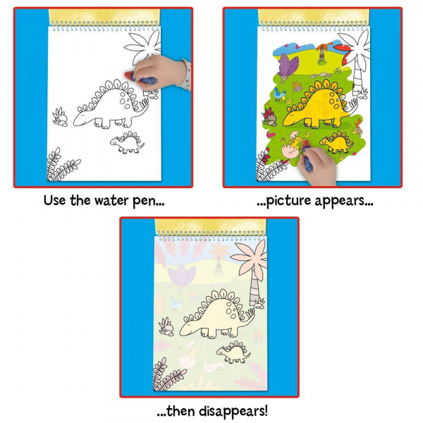 Water Magic: Carte de colorat Dinozauri 2