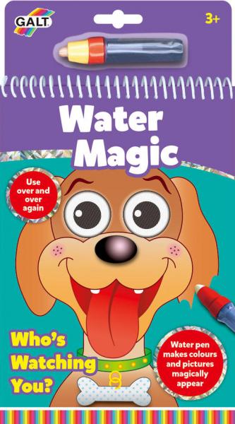 Water Magic: Carte de colorat Ghici cine-i acolo? 2