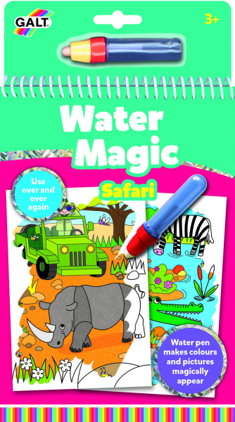 Water Magic: Carte de colorat Safari 0