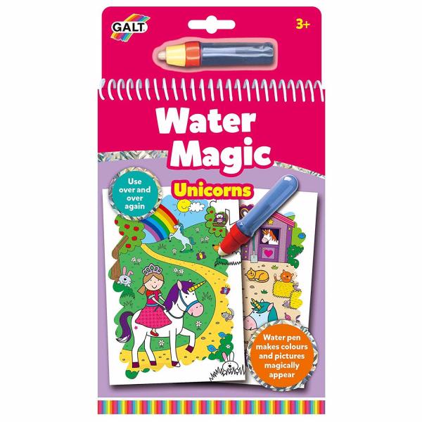 Water Magic: Carte de colorat Unicorni 0