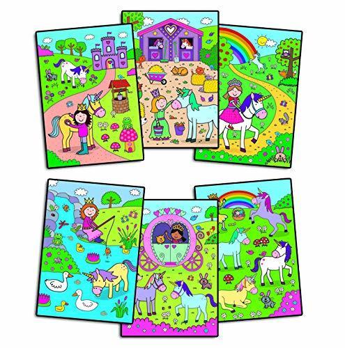 Water Magic: Carte de colorat Unicorni 4