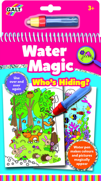 Water Magic: Carte de colorat Who's Hiding? 0