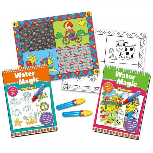 Water Magic: Set carti de colorat CADOU (2 buc.) 0