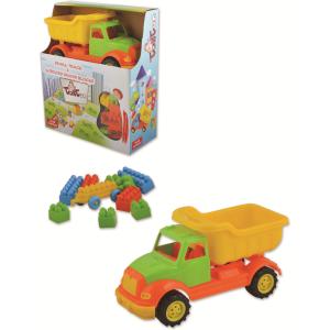 Autobasculanta 30 cm cu 36 piese constructie Ucar Toys UC1031