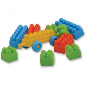 Autobasculanta 30 cm cu 36 piese constructie Ucar Toys UC1033