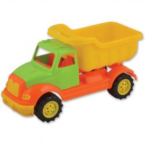 Autobasculanta 30 cm cu 36 piese constructie Ucar Toys UC1032
