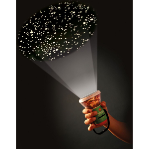 Aventuri in aer liber – Proiector si lampa de veghe pentru Camping Brainstorm Toys E20605