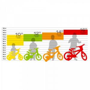 Bicicleta copii 10'' - EROII IN PIJAMA1