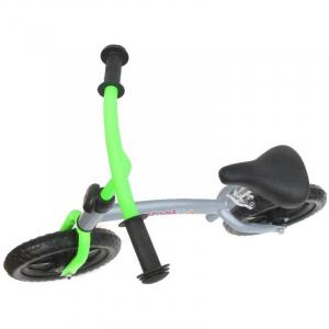 Bicicleta fara pedale transformabila 12 inch - Mamakids - Gri cu Verde [5]
