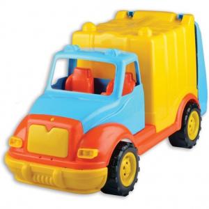 Camion pentru gunoi 48 cm cu 38 piese constructie Ucar Toys UC862