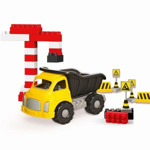 Camion si cuburi de construit - 40 piese1