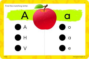 "Carduri Junior HOT DOTS ""Alfabetul""5"