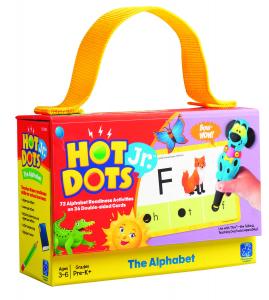 "Carduri Junior HOT DOTS ""Alfabetul""4"