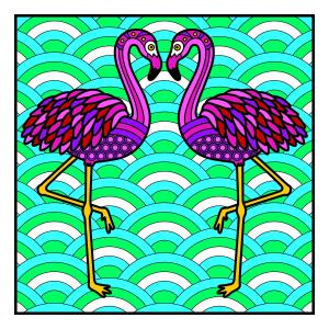 Carte de colorat - Animalute4