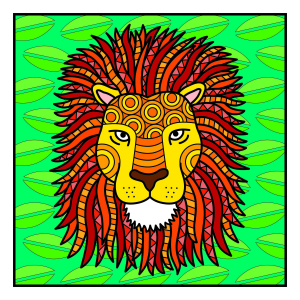 Carte de colorat - Animalute1