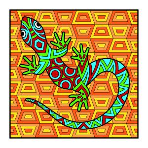 Carte de colorat - Animalute2