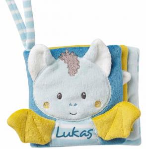 Carticica din plus pentru bebelusi - Liliac haios0