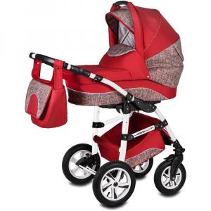 Carucior Flamingo Easy Drive 3 in 1 - Vessanti - Red0