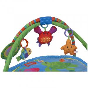 Centru de joaca cu pernita Ocean - Sun Baby2