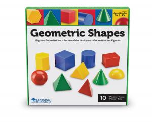 Corpuri geometrice din plastic - 10 piese [1]