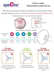 Cupa pentru san - 16 mm2