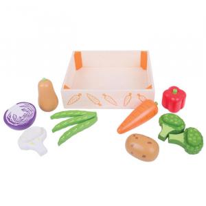 Cutiuta cu legume din lemn3