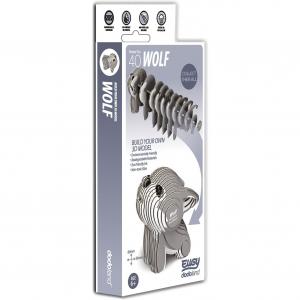 DIY Animale 3D Eugy Lup Brainstorm Toys D50082