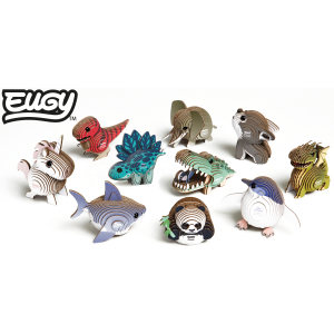 DIY Animale 3D Eugy Lup Brainstorm Toys D50085