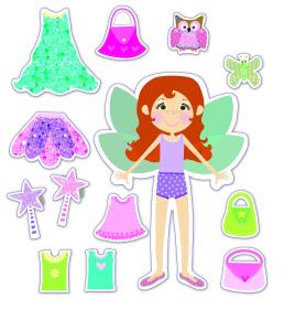 Fairy Friends: Set de creatie Zane magnetice5