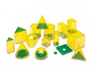 Forme geometrice GeoSolids - 14 piese1