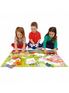Giant Floor Puzzle: Ferma (30 piese)2