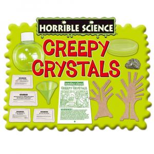 Horrible Science: Cristale ciudate2