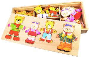 Joc de potrivire - Familia ursuletilor2