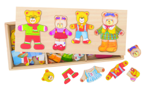 Joc de potrivire - Familia ursuletilor1