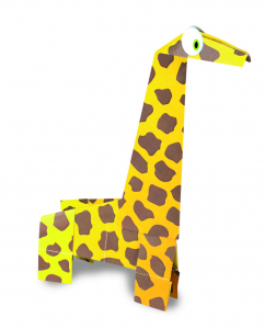 Joc Origami - Animalute salbatice2