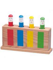 Jucarie din lemn Pop-Up0