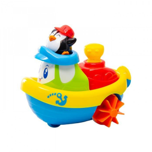Jucarie pentru baie - Barcuta pinguinului2