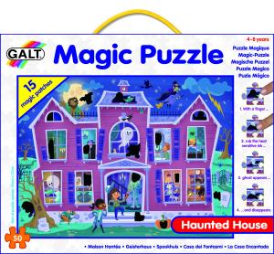 Magic Puzzle - Casa bantuita (50 piese)1