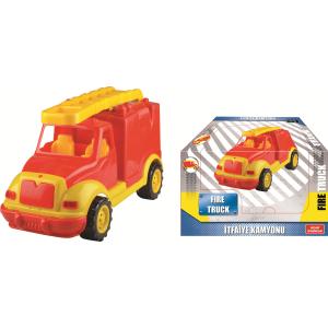 Masina pompieri 43 cm, in cutie Ucar Toys UC1081