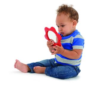 Oglinda floricica pentru bebelusi2