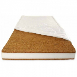 Patut din lemn masiv si laterala culisabila Olek + Saltea Cocos Comfort4
